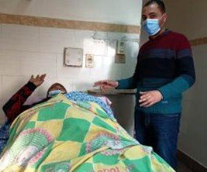 بعد توجيهه لعلاجها.. سيدة المنوفية ترفع رسالة للسماء من أجل الرئيس السيسي