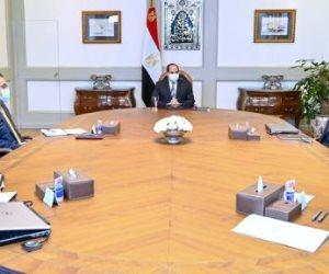 الرئيس السيسي يشدد على التوسع في تطبيق نظم الري الحديثة وتوطين التكنولوجيا