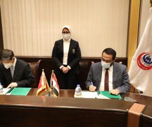 مصر والصين يوقعان مذكرة تعاون لتوفير لقاحات كورونا وبناء منصة لنقل وتبادل الخبرات