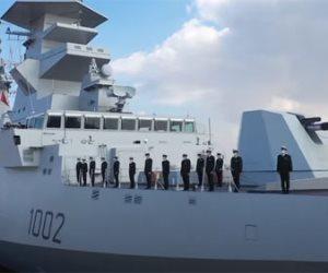 وصول الفرقاطة الجلالة لقاعدة الإسكندرية البحرية.. فيديو وصور