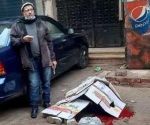 خلعته فقتلها.. وبـ«الكمامة والسيجارة» انتظر وصول الشرطة