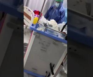 مستشفى الحسينية.. تتصدر التريند بعد تداول فيديو مفبرك لحالات وفيات بكورونا