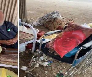 """مسافة السكة.. إعادة مصري من السعودية بعد انتشار فيديو """"نومه على الرصيف"""""""