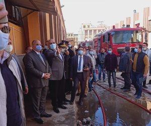 دمر مخزن وزارة الصحة للأدوية. تفاصيل اندلاع حريق هائل بالعباسية