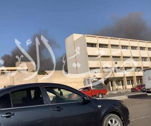 اندلاع حريق داخل مخزن أدوية بالعباسية والإطفاء تحاول إخماده
