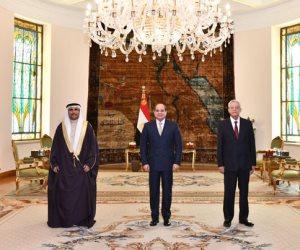 السيسى : وحدة المواقف تمكن الدول العربية من وضع خطوط لصون محددات أمنها القومى