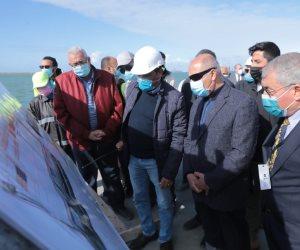وزير النقل: انتهاء تنفيذ المحطة متعددة الأغراض بميناء الإسكندرية نهاية 2021