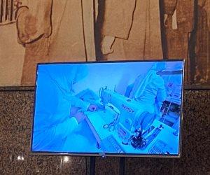 بحضور 16 وكالة أنباء عالمية.. استعراض فيلم تسجيلي عن تأهيل المساجين في زيارة لطرة