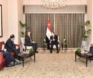 الرئيس السيسي يبحث مع رئيس وزراء الأردن تعزيز الجوانب الاقتصادية بين البلدين