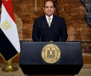 الرئيس السيسى يوجه كلمة متلفزة للمنظمة العالمية للتعاون الاقتصادى والتنمية