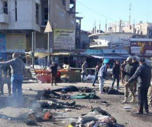 تفاصيل لحظات الرعب والدم في العاصمة العراقية.. الصور الأولى لهجوم بغداد