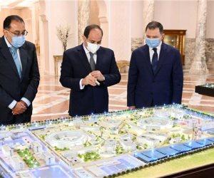 الرئيس السيسى يطلع على تطوير منشآت وزارة الداخلية على مستوى الجمهورية