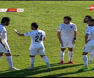 هدف مصطفى فتحي في مرمى بيراميدز يشغل «خناقة» بين عبد الله السعيد وعلي جبر