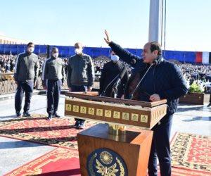 تفاصيل زيارة الرئيس السيسي لأكاديمية الشرطة.. إشادة بالتضحيات والمهمة المقدسة