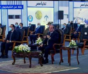 """الرئيس السيسى: العالم ينظر لمصر باندهاش بسبب التعامل مع كورونا.. """"ماتندهشوش.. كلها جنود لله"""""""