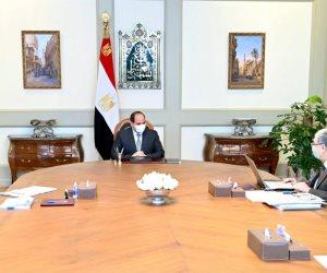 الرئيس يوجه بتطوير البنية الأساسية الكهربائية في قرى الريف المصري وتوابعها على أعلى مستوى