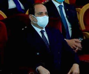 الرئيس السيسى: استقرار مصر تجسيدا للإرادة الصلبة للدولة وشعبها العظيم
