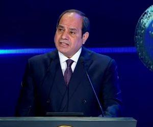 الرئيس السيسى: تطوير الريف فرصة عظيمة وقوة دفع كبيرة للصناعة المصرية