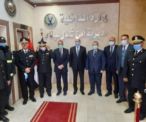 """""""شوشة"""" يزور المقرات الشرطية.. ويؤكد: رجال الشرطة ضحوا من أجل العيش الكريم لأهالي شمال سيناء"""