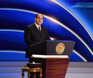 الرئيس السيسي: الوضع المستقر لمصر جاء حصاداً لتضحيات أبطال الجيش والشرطة