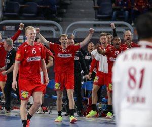 الدنمارك تتأهل لنهائى مونديال اليد بعد الفوز على إسبانيا 35 / 33