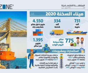 تعدت مشروعاته ربع مليار جنيه في 2020.. «الوزير» يؤكد الانتهاء من استكمال إنشاء وتطوير ميناء السخنة في عامين بـ20 مليار جنيه