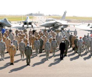 «نسور الجو».. القوات الجوية المصرية والفرنسية تختتم التدريب المشترك