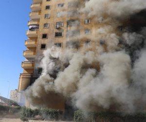 النيابة الإدارية تكلف الوحدة المحلية في كرداسة بهدم عقار فيصل المحترق كليا