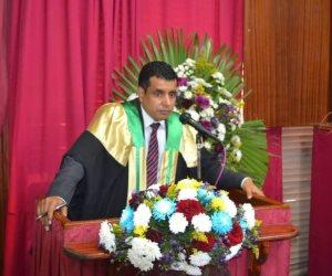 الزميل الإعلامى السيد على رضوان يحصل على درجة الدكتوراه في القانون من جامعة المنوفية