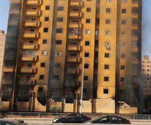 النيابة العامة تتسلم قرار هدم عقار فيصل المحترق لبنائه بدون ترخيص
