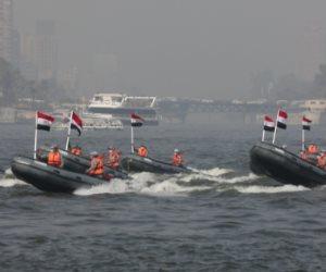 في إطار احتفالات الشرطة بالعيد الـ 69.. رجال المسطحات المائية في مهمة حماية النيل الخالد (فيديو)
