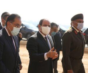 الرئيس السيسي: توفير أماكن بديلة العشوائيات وفقا لطلبات الناس