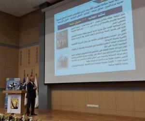 خالد فودة يستعرض فيلما تسجيليا يوثق أهم عمليات تطوير محافظ شرم الشيخ