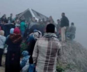 حادث كبير بسبب الشبورة على طريق الاسماعيلية الزقازيق.. وإصابة 55 عاملا (صور)