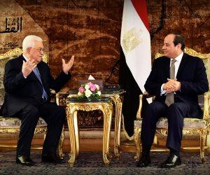 تفاصيل مكالمة الرئيس السيسي مع نظيره الفلسطيني