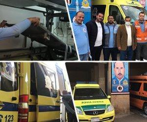 رجال إسعاف شمال سيناء.. أبطال في مواجهة الخطر