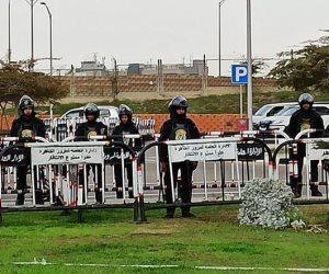 تواجد أمني مكثف بمحيط مطار القاهرة قبل وصول بعثة الأهلي