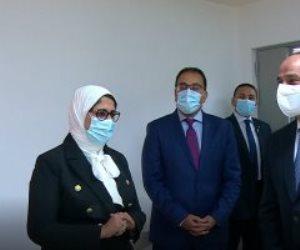 الرئيس السيسى يتفقد المجمع الطبى المتكامل بالإسماعيلية