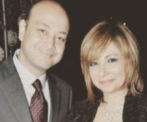 أول تعليق من لميس الحديدي بعد نجاة زوجها الإعلامي عمرو أديب من حادث سير