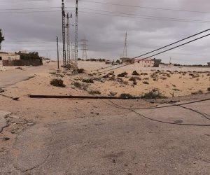 عواصف وأمطار غزيرة تضرب شمال سيناء.. والمحافظة طوارئ (صور)