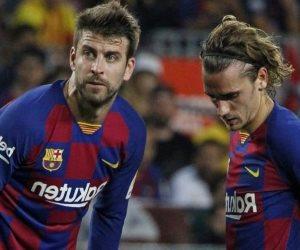 فضيحة بيكيه وجريزمان.. ماذا حدث في مباراة برشلونة وباريس سان جيرمان؟