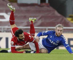 ليفربول يواصل الانهيار بالدوري الإنجليزي ويسقط بثنائية ضد إيفرتون (فيديو)