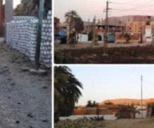 قرية جعفر الصادق بأسوان على موعد مع «حياة كريمة».. هذه مشكلات الصرف ومحولات الكهرباء