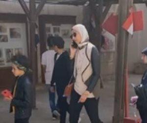 أبناء الشهداء في احتفالية ذكرى استشهاد البطل أحمد شحاته في القلعة