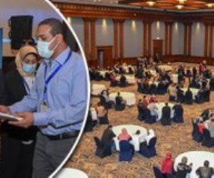 """أعمال """"حياة كريمة"""" في الإسكندرية.. توقيع 24 عقد عمل لذوي القدرات الخاصة"""