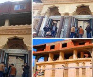 قصة «مسجد الرحمانية» تنتهي بإزالة الأبنية المخالفة أعلى المسجد (صور)