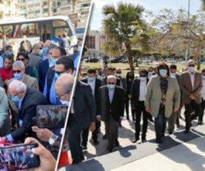 تفاصيل افتتاح وزيرة الثقافة  شارع الفنان الراحل محمود ياسين ببورسعيد (صور)