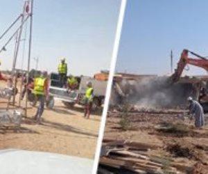 قطار مشروعات «حياة كريمة» يصل قرى إدفو وكوم أمبو في أسوان (صور)