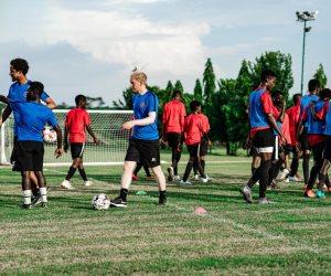 باديا بالم هيلز تحتضن أكاديمية «حقك تحلم» على أرضها دعما لاكتشاف ورعاية المواهب الرياضية