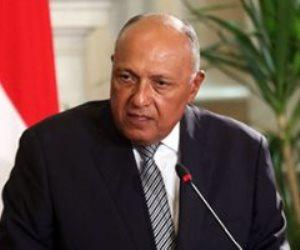 وزير الخارجية: الشعب الفلسطينى يستحق نيل حقوقه المشروعة